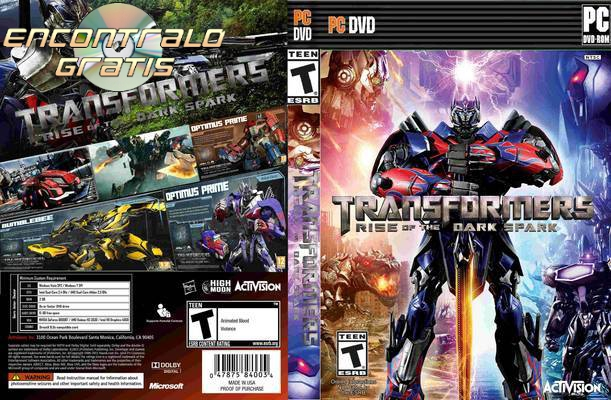 BAJAR Transformers Rise Of The Dark Spark [Para PC