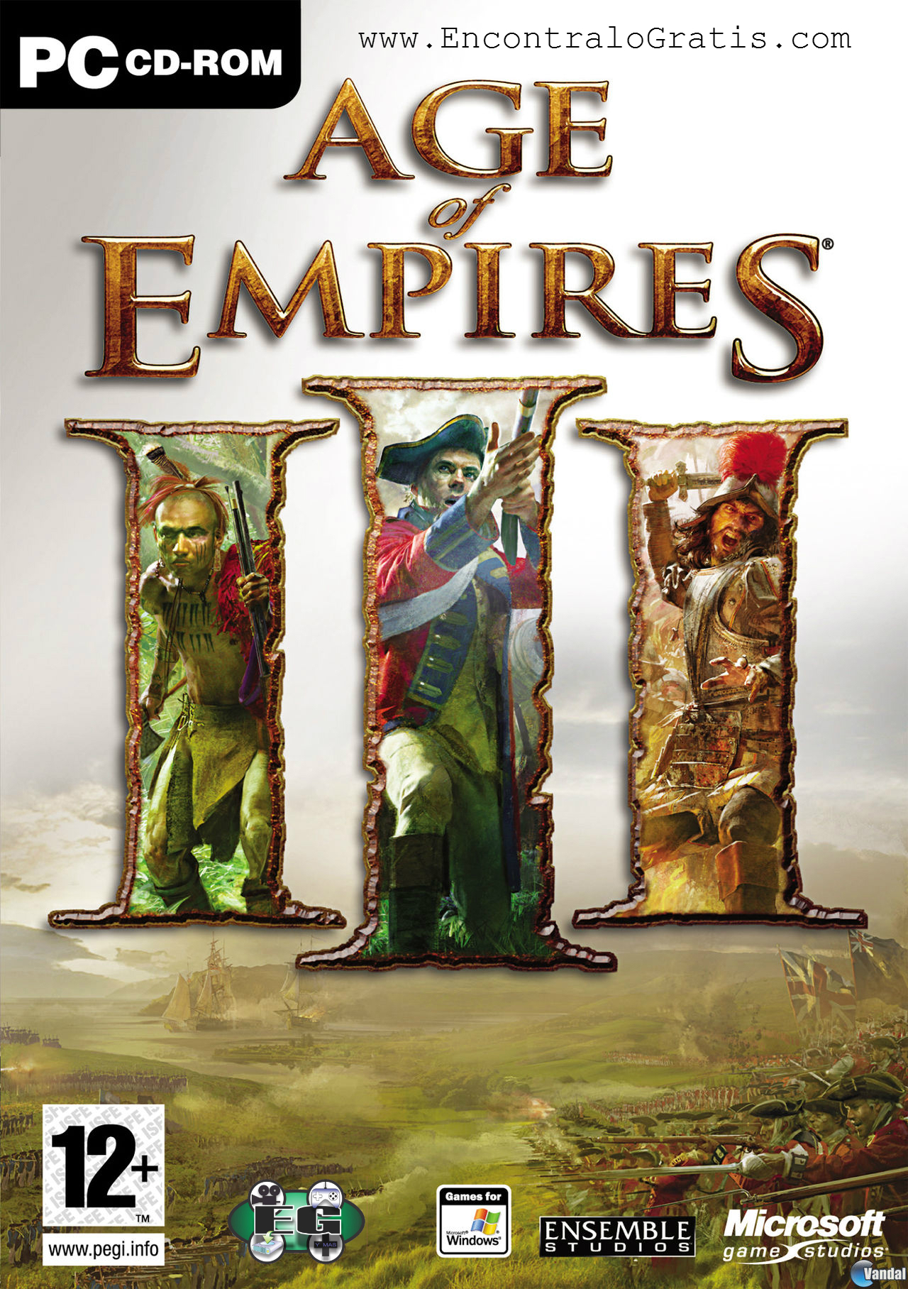 Descargar Age Of Empires 3 completo, 1 link MEGA.